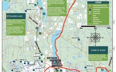 New Nipigon area and Lake Nipigon Maps