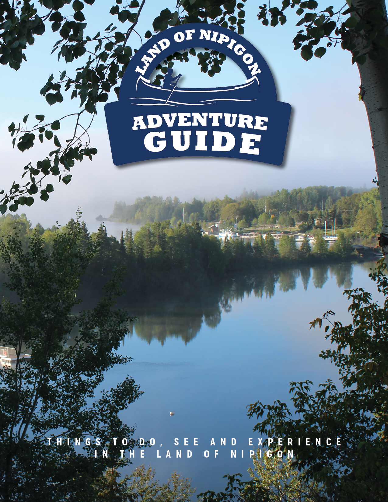 Land of Nipigon Adventure Guide Covers